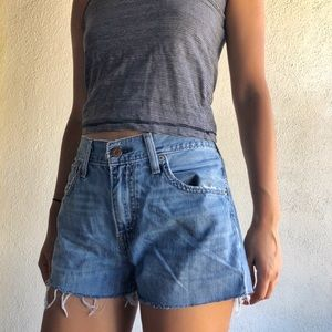 Vintage Levi's 527 High Waisted Shorts